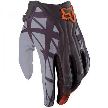 Мотоперчатки Fox Flexair Given Grey-Orange M