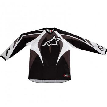 Джерси Alpinestars RACER JERSEY Black-Grey M (2011)