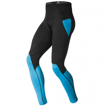 Термоштаны Odlo Pants Muscle Force Blue-Black S (2014)