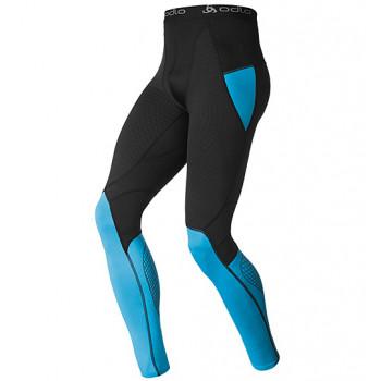Термоштаны Odlo Pants Muscle Force Blue-Black S (2014)