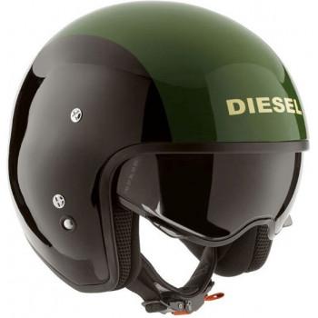 Мотошлем Diesel HI-JACK Black-Green XL