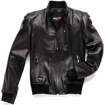 Мотокуртка кожаная Blauer Indirect Black S