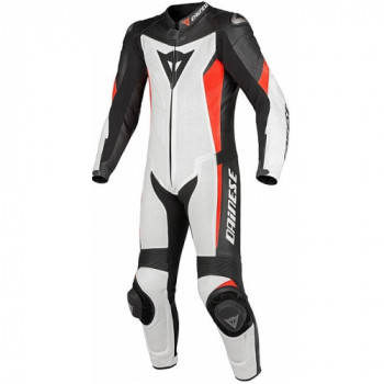 Мотокомбинезон Dainese Crono Black-White-Red 52