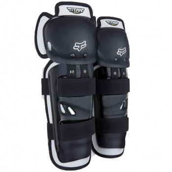 Наколенники детские Fox Youth Titan Sport Knee Guard CE Black