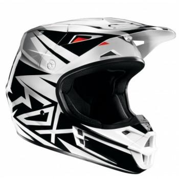 Мотошлем FOX V1 Costa ECE Black 2XL