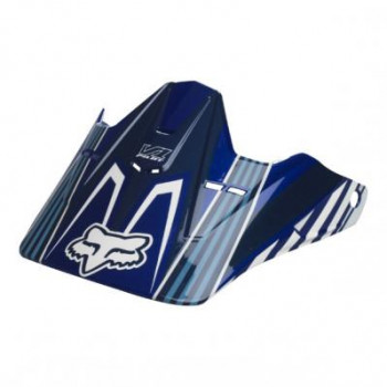 Козырек шлема для FOX V1 Race Visor Blue