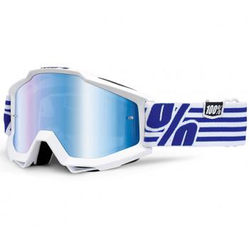 Мотоочки 100% Accuri Goggle Nimitz - Mirror Blue Lens