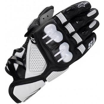 Мотоперчатки кожаные Alpinestars S-1 Black-White M