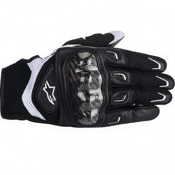 Мотоперчатки женские Alpinestars Stella SMX-2 Air Carbon Black-White S