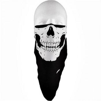 Маска полулицевая Schampa Skull