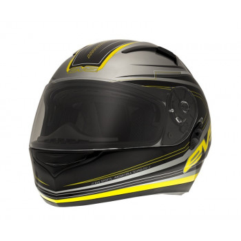 Мотошлем EVS CYPHER Maverick Black-Yellow S