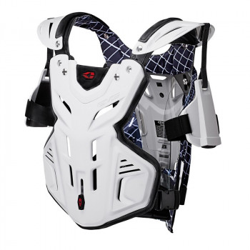 Моточерепаха EVS F2 CHEST PROTECTOR White XL
