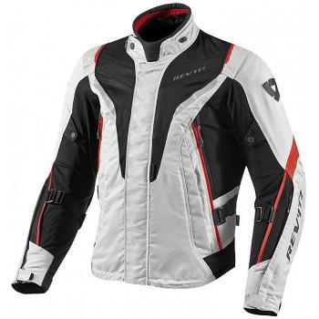 Мотокуртка REVIT VAPOR текстиль Silver-Red S