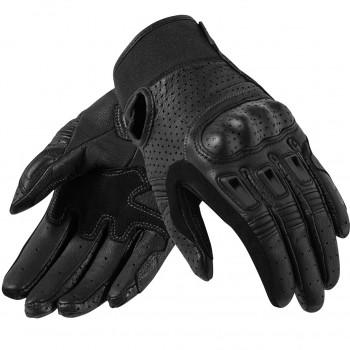 Мотоперчатки кожаные REVIT Bomber Black S