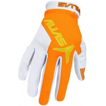Мотоперчатки Alias AKA Neon Orange-Neon Yellow M (2015)