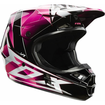 Мотошлем Fox Racing V1 Radeon Helmet Pink L