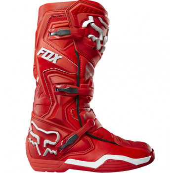 Мотоботы Fox Comp 8 Boot Red-White 11