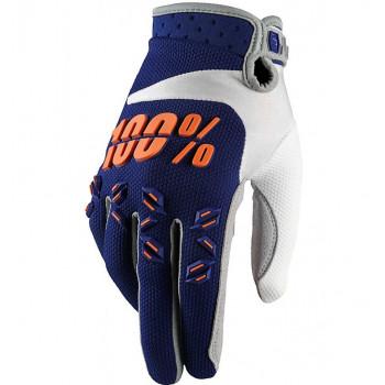 Мотоперчатки Ride 100% Airmatic Navy-Orange L