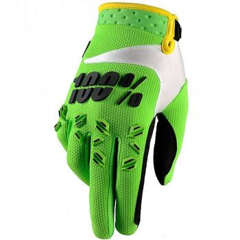 Мотоперчатки Ride 100% Airmatic Lime Green L