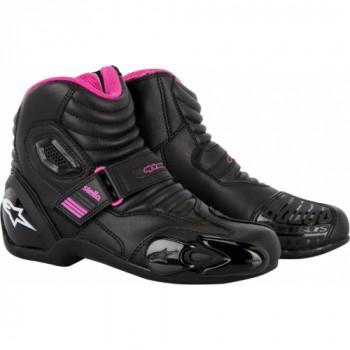 Мотоботы женские Alpinestars Stella S-MX 1.1 Black-Purple 36