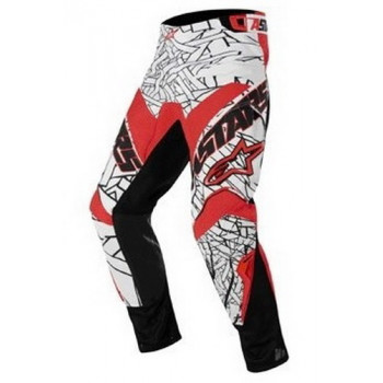 Мотоштаны детские Alpinestars Youth Charger Black-White-Red 22