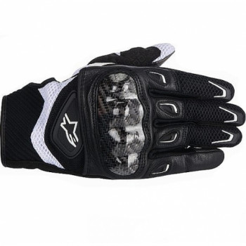 Мотоперчатки женские Alpinestars Stella SMX-2 Air Carbon Black-White XS