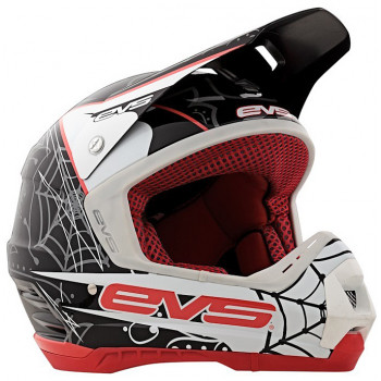 Мотошлем EVS T5 Luchador Back-Red S