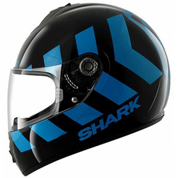 Мотошлем Shark S600 Pinlock No Panic Black-Blue L