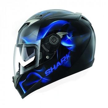 Мотошлем Shark S900 Comfort Glow 3 Black-Blue XL