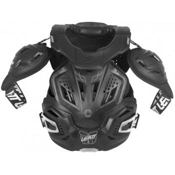 Моточерепаха с защитой шеи Leatt FUSION 3.0 Black L-XL (2015)