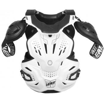 Моточерепаха с защитой шеи Leatt FUSION 3.0 White L-XL (2015)