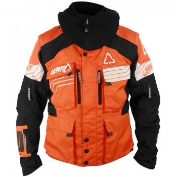 Мотокуртка Leatt GPX W.E.C Orange-Black-White XL (2015)