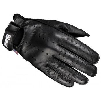 Мотоперчатки Blauer Caferace Black 2XL