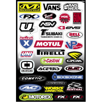 Наклейки Factory Effex Sponsor Kits C