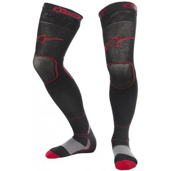 Носки Alpinestars MX Long Red-Black S/M