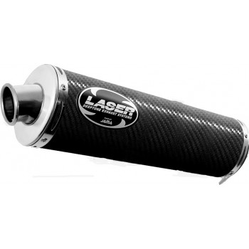 Выхлопная система LAZER OVAL EXTREME HIGH Honda CBR600 (2001) Carbon