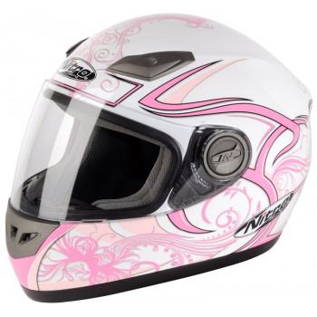 Мотошлем Nitro Dynamo Jnr White-Pink S