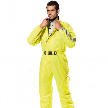 фото 1 Дождевики  Комбинезон Spidi Rain Flux WP Suit Black-Yellow L