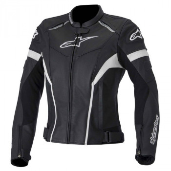 Мотокуртка женская Alpinestars Stella Gp Plus R Black-White 40