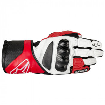 Мотоперчатки Alpinestars SP-8 White-Red-Black 2XL