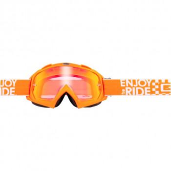 Мотоочки Oneal B-Flex Launch Orange-Iridium