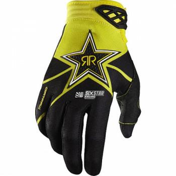 Мотоперчатки Fox Dirtpaw Rockstar Black-Yellow L