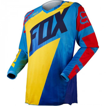 Джерси Fox 180 Vandal Yellow-Blue 2XL (2015)