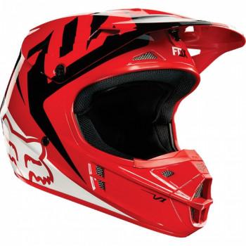 Мотошлем Fox V1 Race Red L