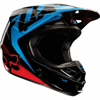Мотошлем Fox V1 Race Blue-Red L