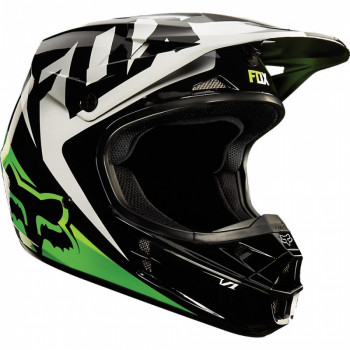 Мотошлем Fox V1 Race Black-Green M