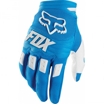 Мотоперчатки Fox Dirtpaw Race Blue L (2015)