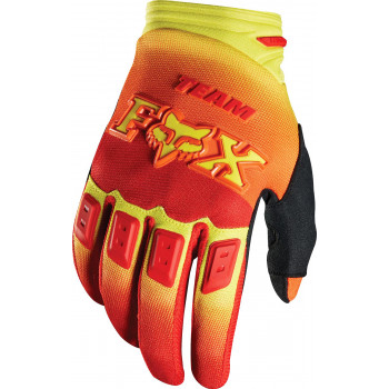 Мотоперчатки Fox Dirtpaw Imperial Red-Yellow M (2015)