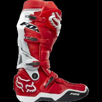 Мотоботы Fox Instinct Red-White 12