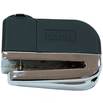 Мотозамок на диск с сигнализацией Oxford Screamer Chrome